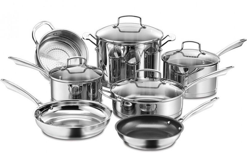 10294 S/S 11pc cookware set pro seri