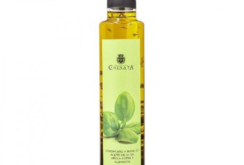 3957 LA CHINATA BASIL FLAVOURED OLIVE OIL