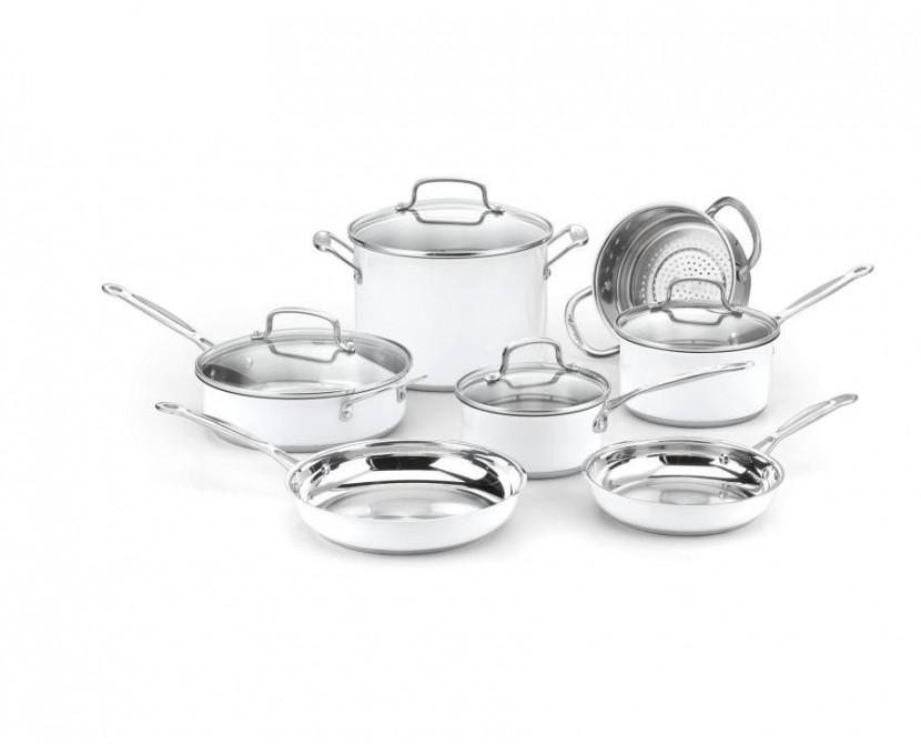 9216 C/s S/s 11pc cookware set met