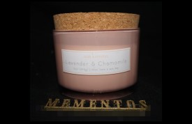 11260 LAVENDER & CHAMOMILLE CORK LID CANDLE