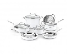 9216 C/s S/s 11pc cookware set met