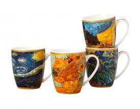 11485 Van Gogh mug S/4  400ml Gb