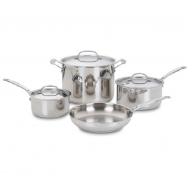 12736 C/C Stainless 7 pc set